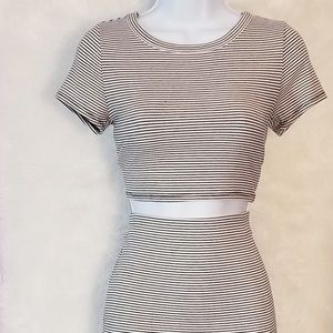 Ribbed Two-Piece Set